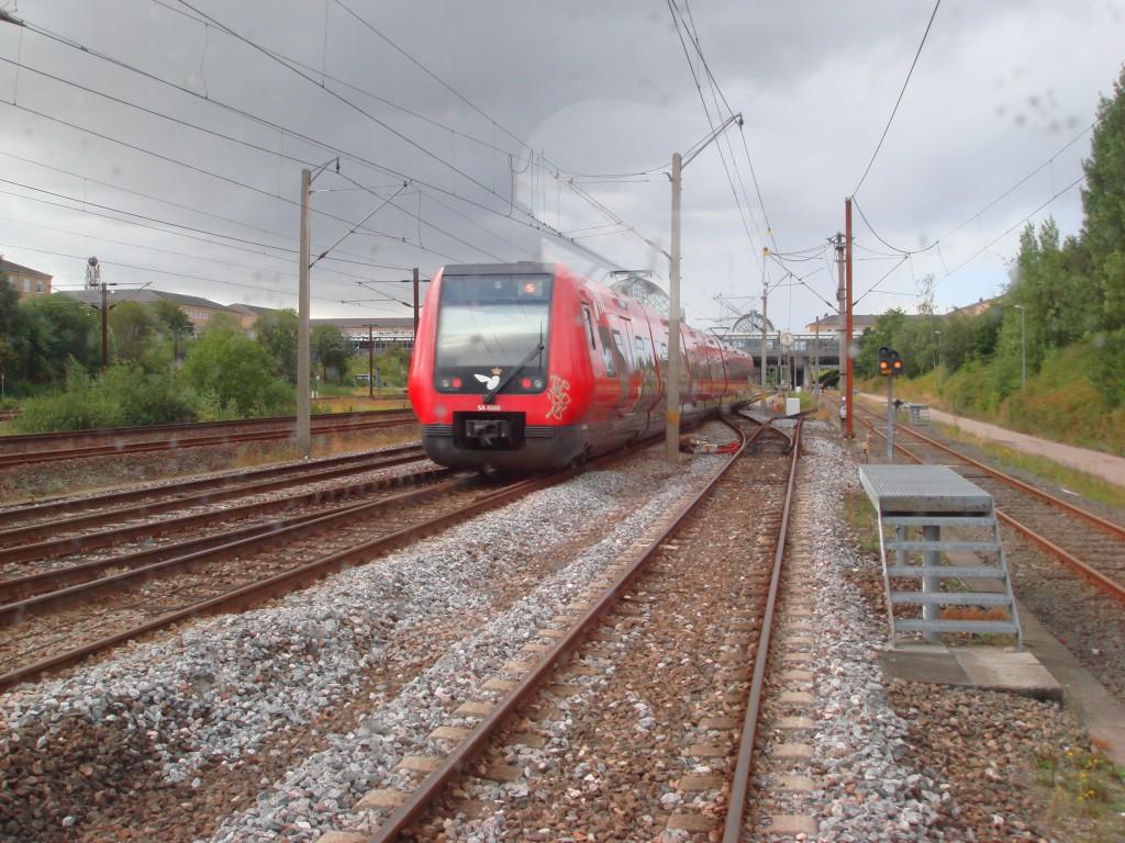 1 S-tog i Høje Taastrup på vej mod København